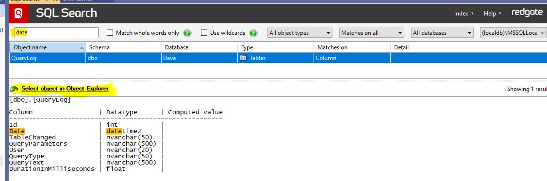 Redgate SQL Search