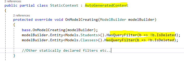 Global Query Filters