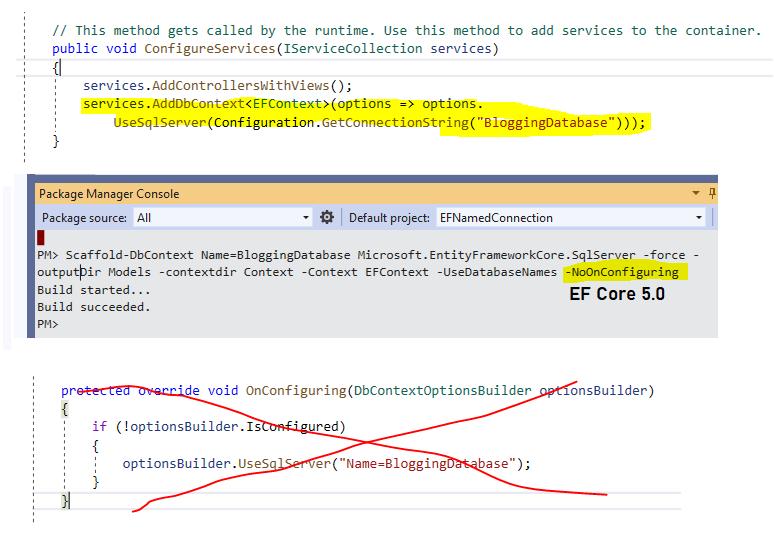 Suppress OnConfiguring in Entity Framework