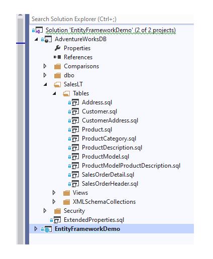 SQL Server Database Project