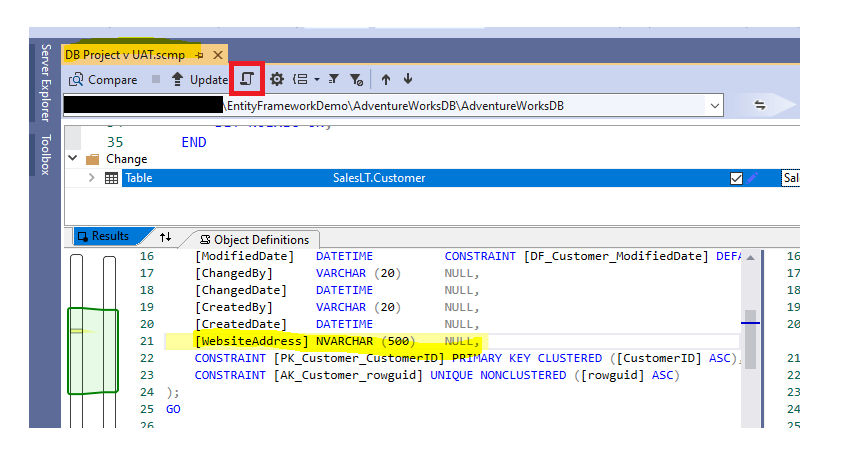 Generate Scripts option